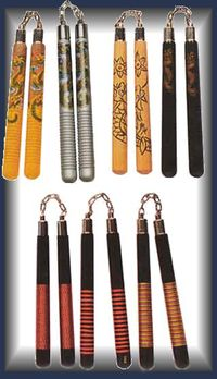 Nunchuck_decorative_grooved