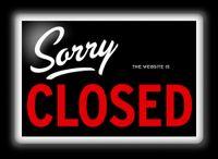 Site-closed-sign
