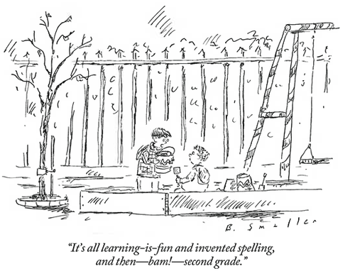 this week in education  cartoon   u0026quot and then -- bam