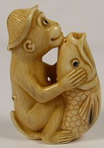 Monkey-fish-netsuke-ebay-TN