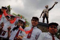 Obama statue jakarta