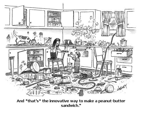 Innovative peant butter sandwich