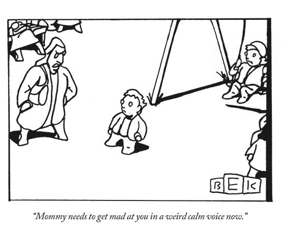 this week in education  cartoon  angry mommy u0026 39 s  u0026quot weird calm u0026quot  voice