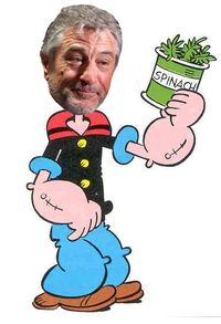 Deniro meets popeye by dan schultz