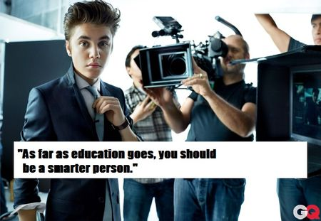 Bieber says
