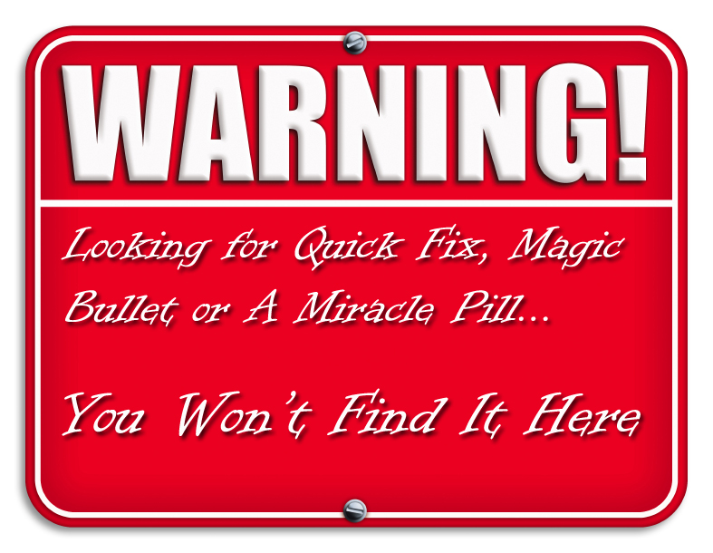 Warning-for-quick-fix