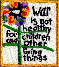 War is not healthy for children___