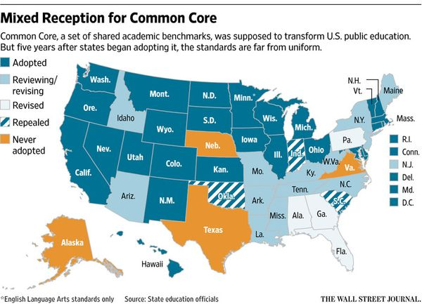 This Week In Education Maps How Many States Have Repealed Common