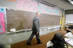 Bush_blackboard